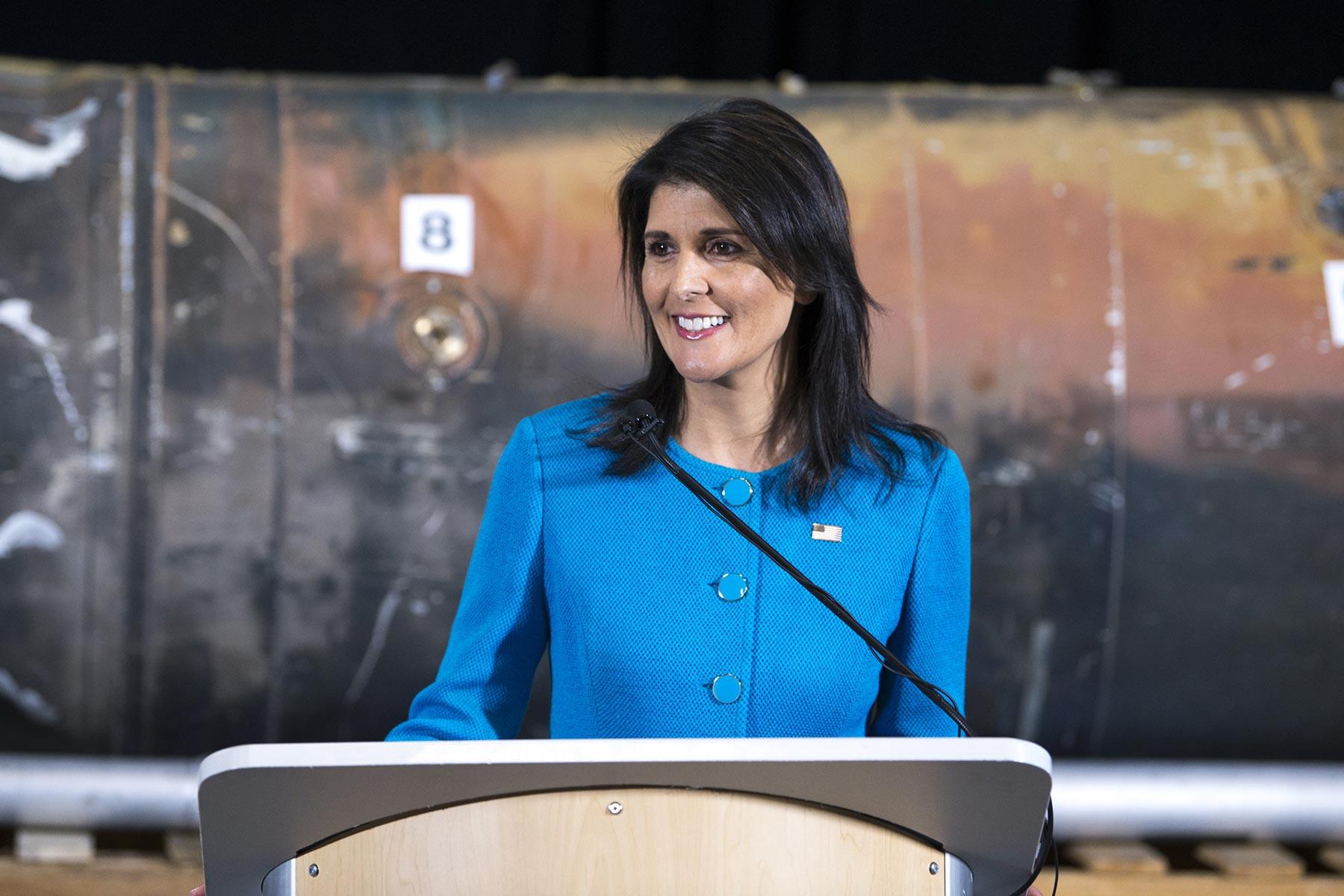 UN Ambassador Haley Puts Iranian Terror Weapons on Display