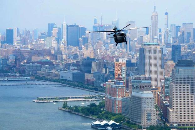 Man piloting drone out of sight crashed it into US Army helicopter