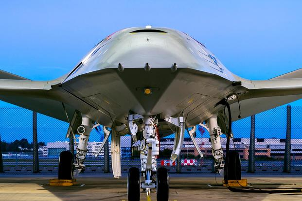 Boeing reveals unmanned drone that refuels aircraft in midair