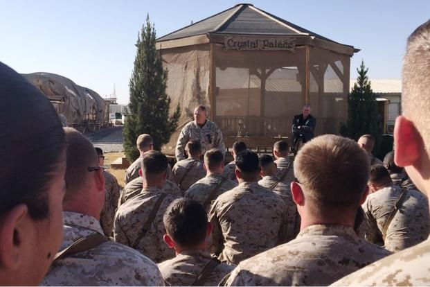 American marines general warns of 'big-ass fight' against Russian Federation