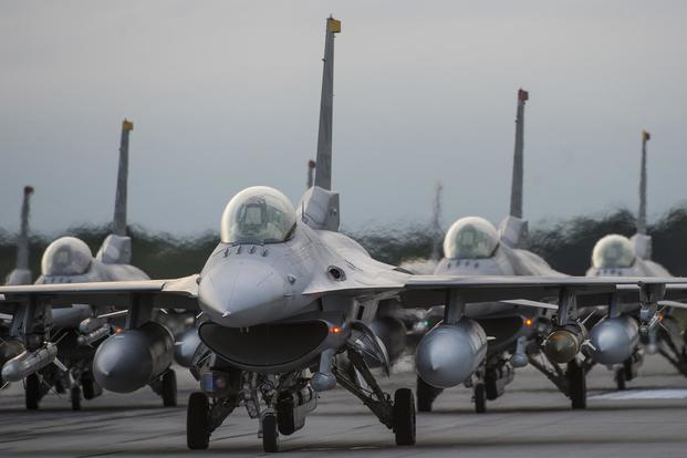 No injuries after F-16's engine catches fire over northern Japan