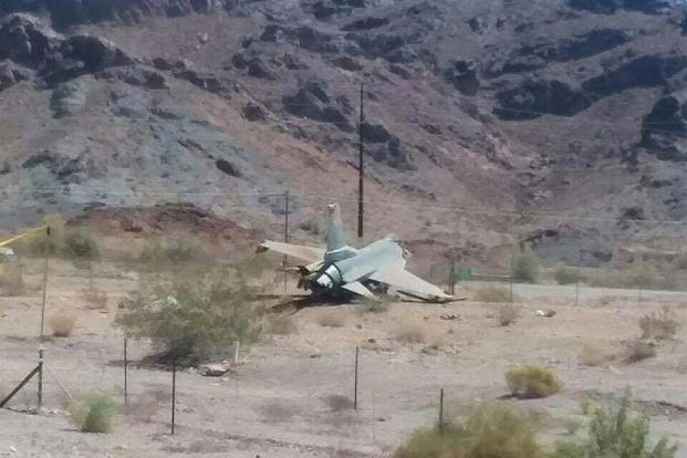 Arizona jet crash: Pilot ejects from military plane in Lake Havasu