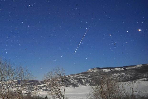 Meteor blast near US base equivalent to 2.1 kilotons