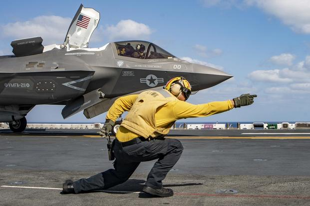 Stealthy F-35 fighter sees 1st combat action