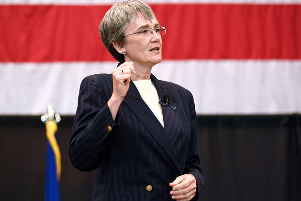 Air Force secretary wants 25 percent more squadrons