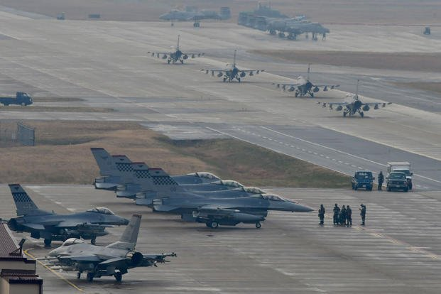 Pentagon: US-South Korea Military War Game Exercises on Hold for Now