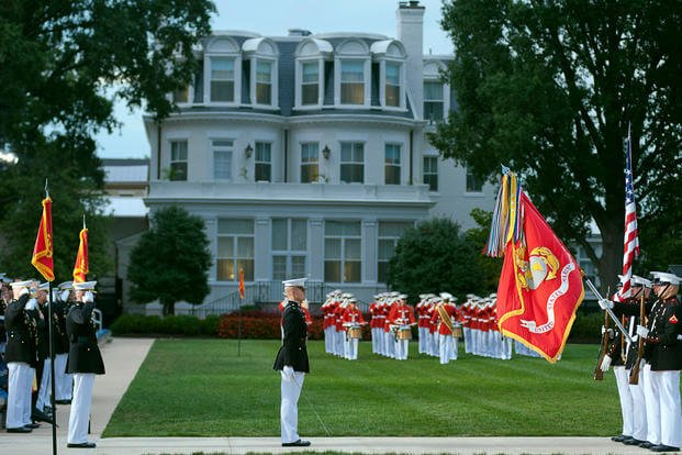 On-duty US Marine shot, killed inside D.C. barracks