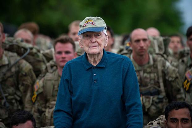 Retired U.S. Army Col. Ralph Puckett.