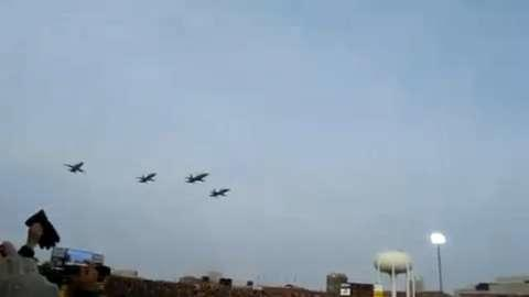 Air Force Football Flyby Cost Pilot Wings