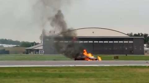 Fatal Crash at Kansas City Air Show