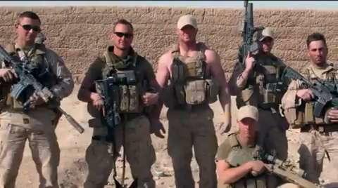 USMC Sangin Firefight Compilation