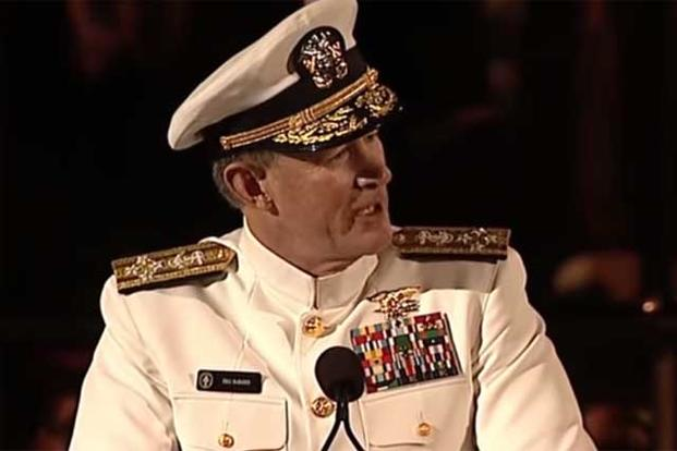 Admiral Mcraven Leaves The Audience Speechless Military Com