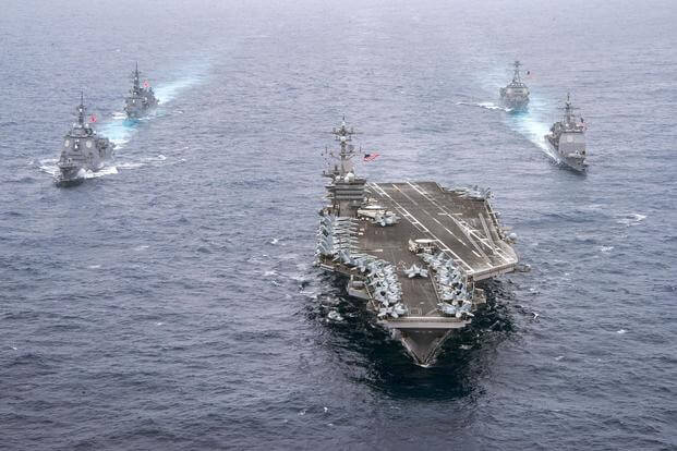 U.S. aircraft carrier headed to Vietnam