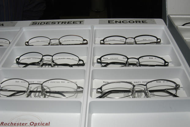 Selection of eyeglasses