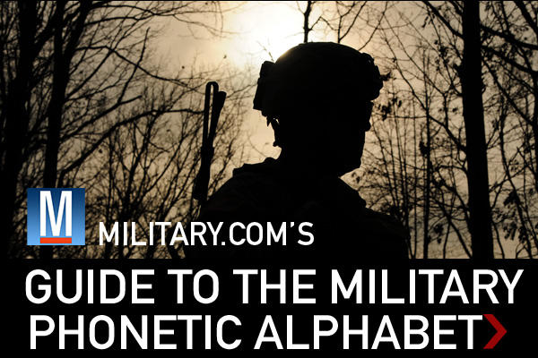How to learn the army alphabet