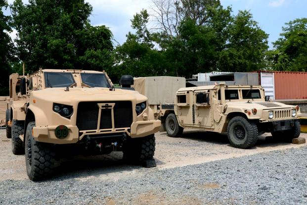 Pentagon Selects 1st Army, Marine Units to Receive JLTV ...