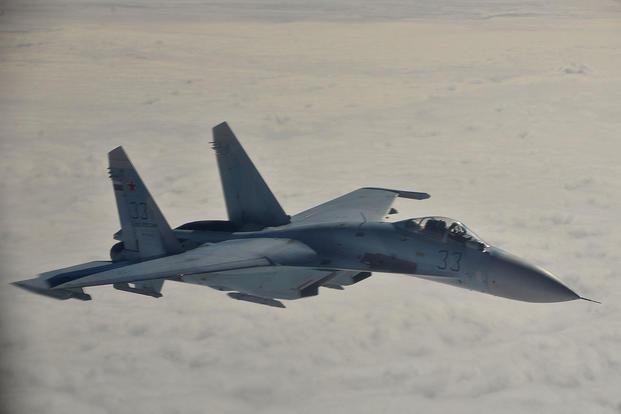 Russian fighter jet intercepts United States  surveillance plane