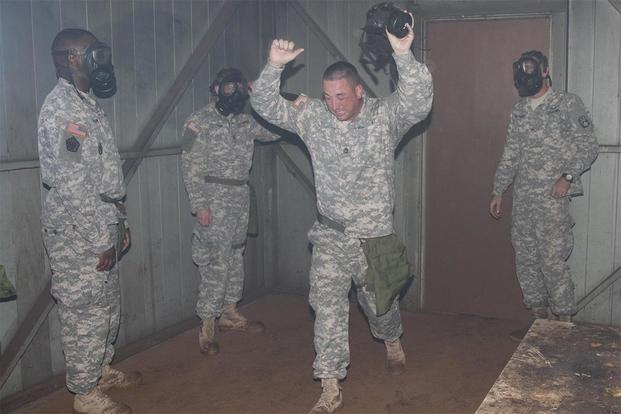 Gas Chamber: Surviving Basic Training