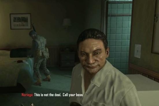 Noriega Sues 'Call of Duty'
