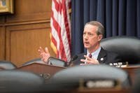 U.S. Rep. Mac Thornberry, Chairman of the House Armed Services Committee (HASC), questions senior military leaders during a HASC hearing on Capitol Hill, March 7, 2017. (DoD Photo by U.S. Army Sgt. James K. McCann)