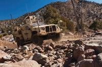 Shown here is the JLTV produced by Oshkosh Truck Corporation, one of the JLTV Engineering, Manufacturing, and Development (EMD) Phase vendors. (Photo: U.S. Army)