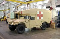 This M997A3 is a Humvee ground ambulance in the Army fleet. The U.S. Army recently awarded AM General LLC a contract worth up to $800 million to build thousands of Humvee ambulances to supplement the service's Joint Light Tactical Vehicle fleet, according to the Indiana-based company. (U.S. Army photo/Matt Schalbach)