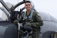 Capt. John Graziano was killed Nov. 13, 2018 in a T-38 Talon crash. (Air Force via Facebook)