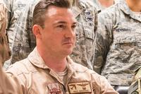 Lt. Col. Paul Goossen, shown at Al Udeid Air Base, Qatar, in December 2017, has been relieved as commander of the 69th Bomb Squadron at Minot Air Force Base, North Dakota.  (U.S. Air National Guard photo by Staff Sgt. Patrick Evenson)