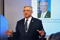 Dr. Richard Stone, then VA's principal deputy under secretary of health, speaks at a planning summit in March 2016. (Kate Viggiano/Veterans Affairs)
