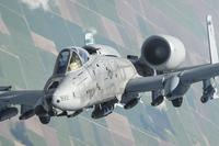 An A-10 Thunderbolt II departs after receiving fuel from a 340th Expeditionary Air Refueling Squadron KC-135 Stratotanker during a flight in support of Operation Inherent Resolve on April 19, 2017. Senior Airman Trevor T. McBride/Air Force