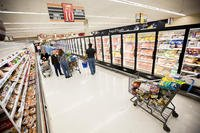 The commissary at Joint Base Myer-Henderson Hall, Virginia. (Photo: U.S. Army/Nell King.)